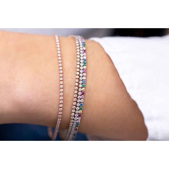 Ellera Tennis W bracelet