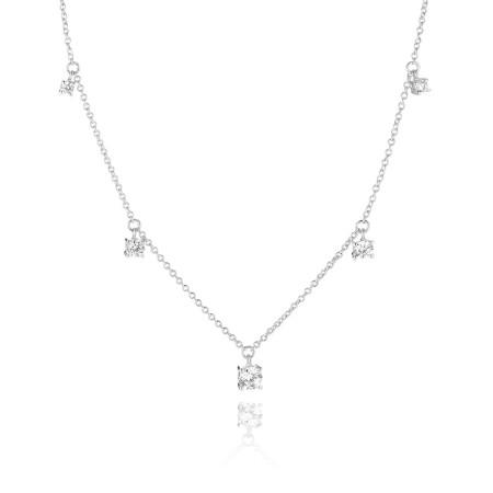 Belluno Piccolo W necklace