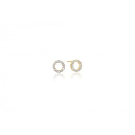 Biella Uno Piccolo Y earrings
