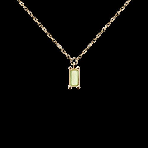 Apple Asana necklace