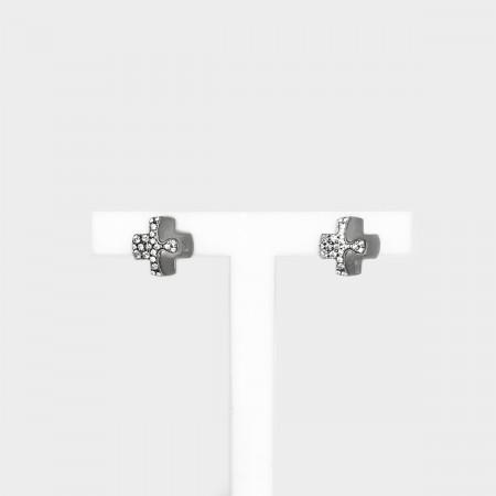 Earrings Puzzle Cross