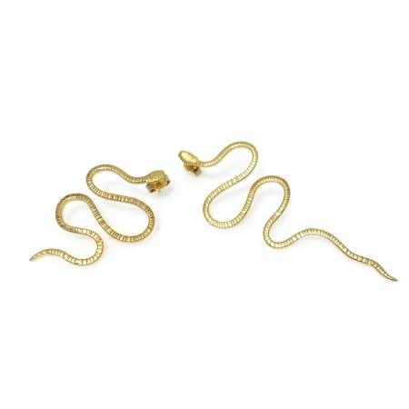 Earrings Cobra