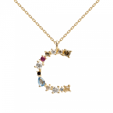 Letter C necklace