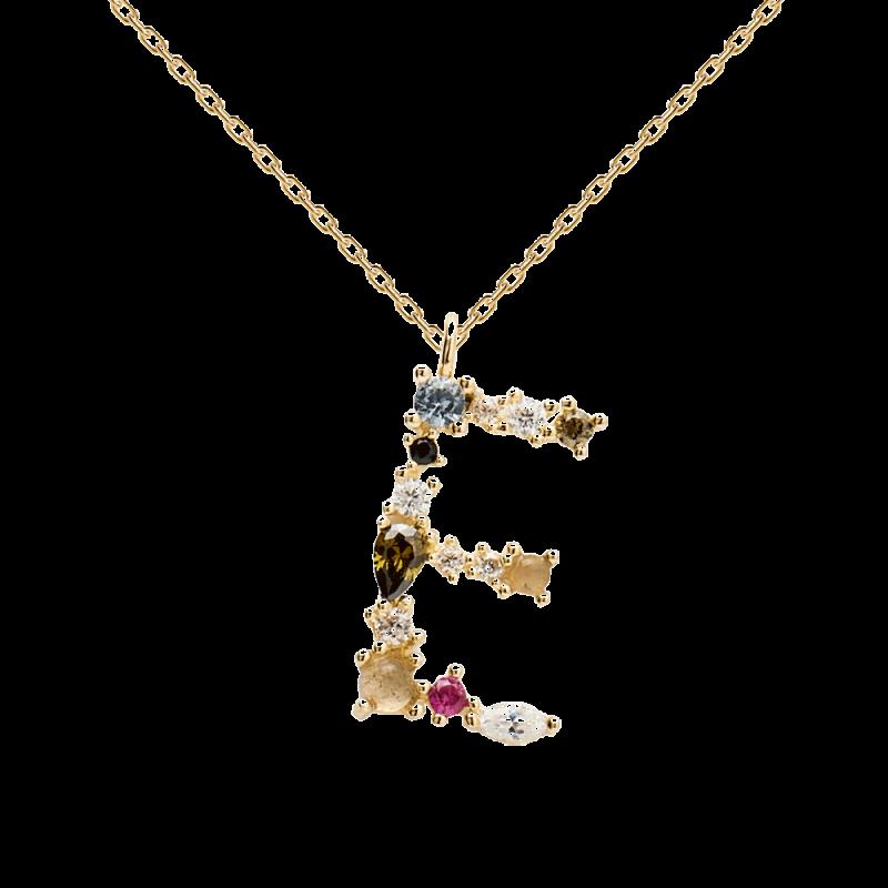 Letter E necklace