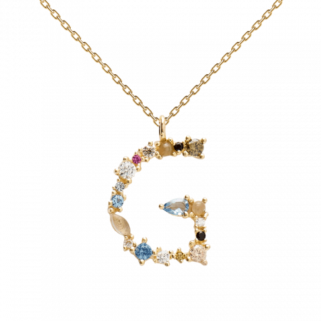 Letter G necklace