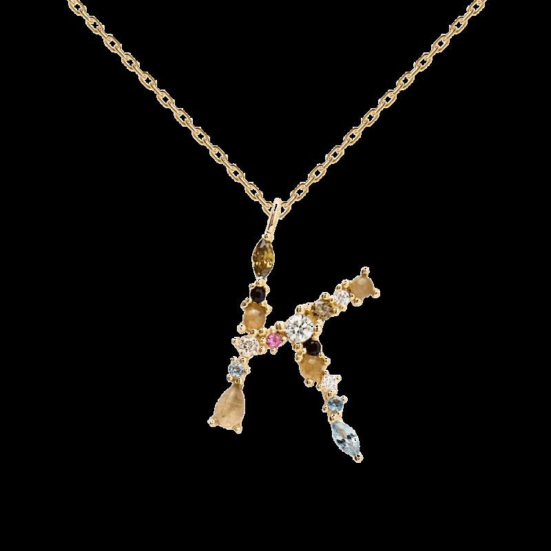 Letter K necklace