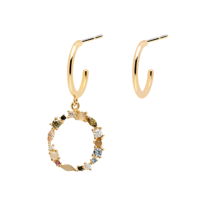 Letter O earrings