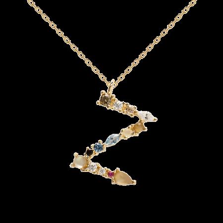 Letter Z necklace