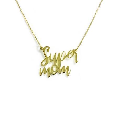 Necklace Super Mom Big