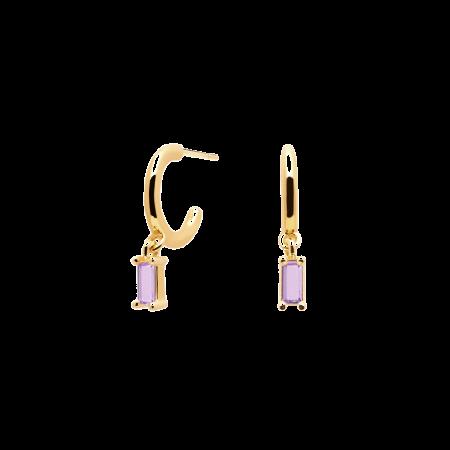 Purple Alia earrings