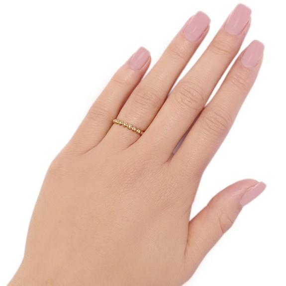 Ring Bubble Sapphire