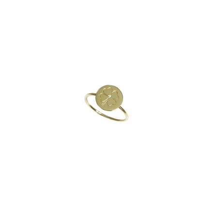 Ring February Clover