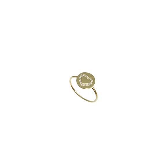 Ring February Heart