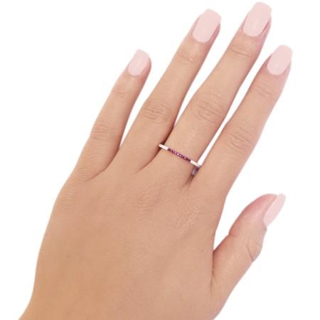 Ring Thin Ceramics Pink