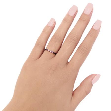 Ring Thin Ceramics Violet