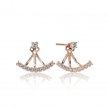Princess Ear Jacket earrings