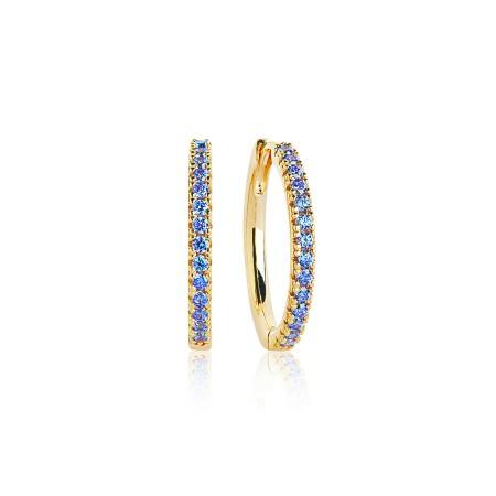 Ellera Grande Blue earrings