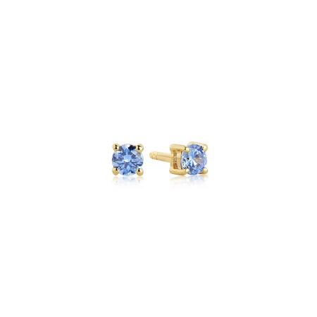 Princess Piccolo Blue earrings