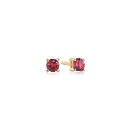 Princess Piccolo Red earrings