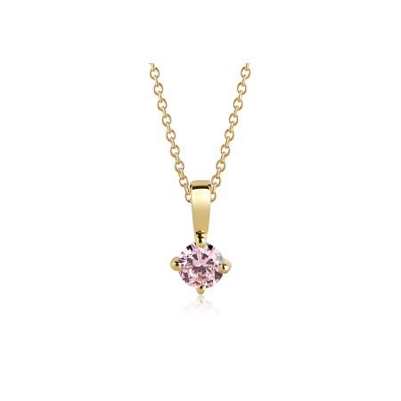 Princess Piccolo Pink pendant