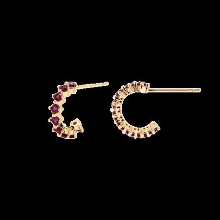 Violet Bird earrings