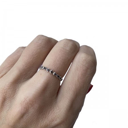 Ring Bubble Black