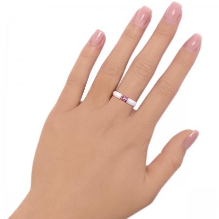 Ring Ceramics Pink