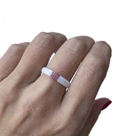 Ring Ceramics Rose