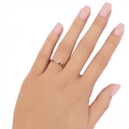 Ring Taily Black