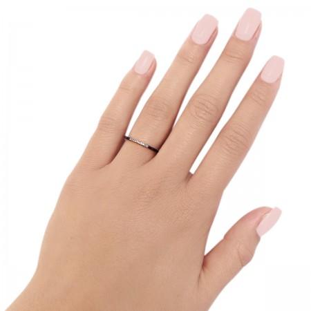 Ring Thin B. White
