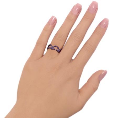 Ring Glow Violet