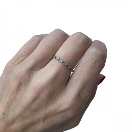 Ring Taily Green