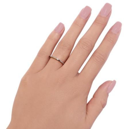 Ring Kubik White