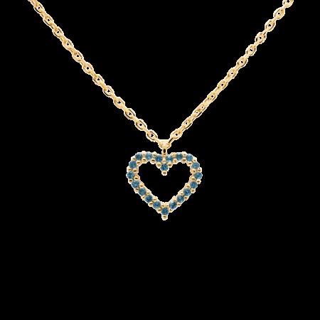 Celeste Heart necklace