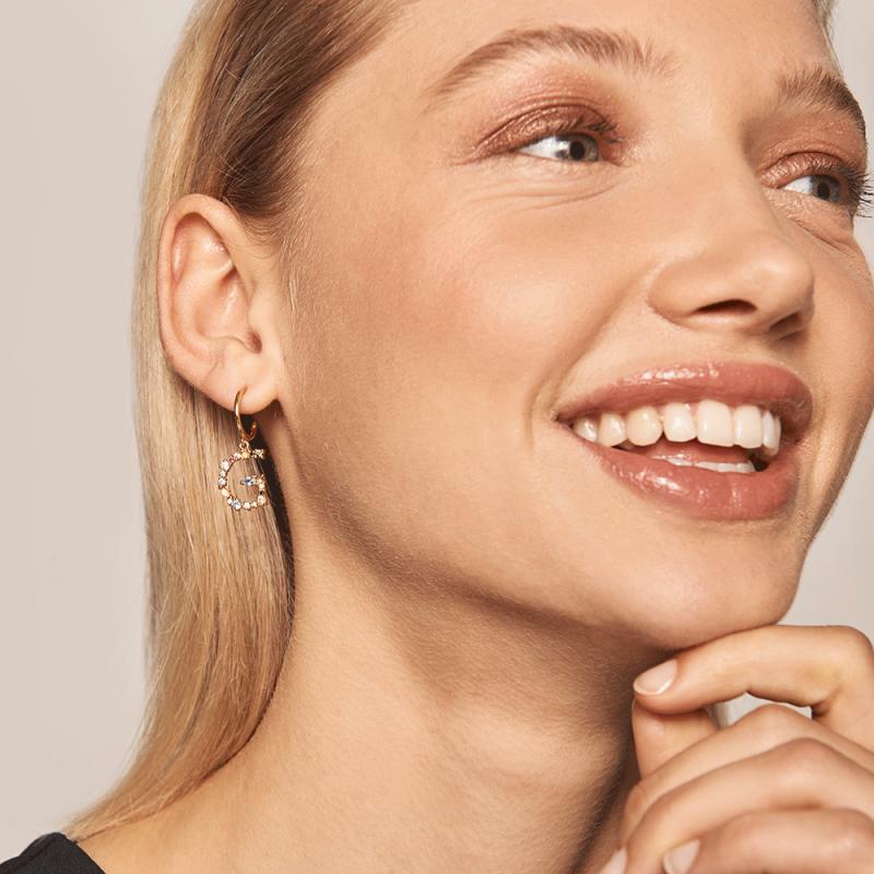 Letter G earrings