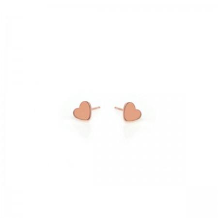 Earrings Rose Heart