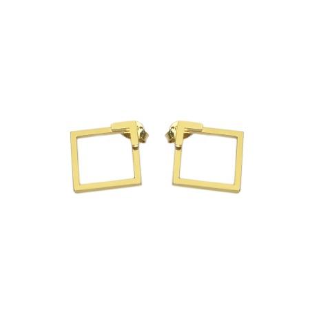 Earrings Cube&Flat