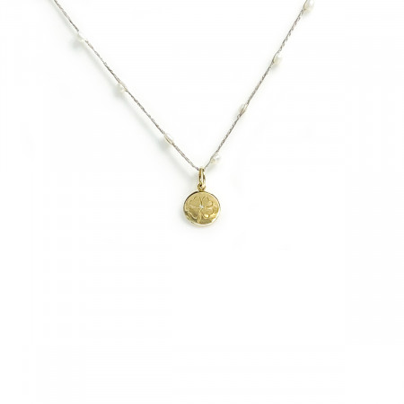 Necklace  Pearl Clover