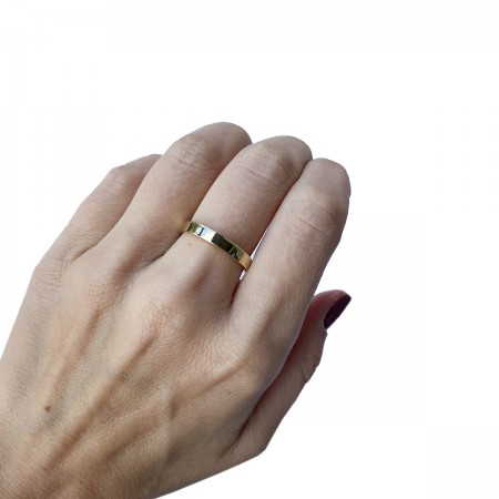 Ring Mirror Yellow