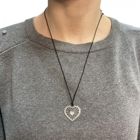 Necklace Heart Locked