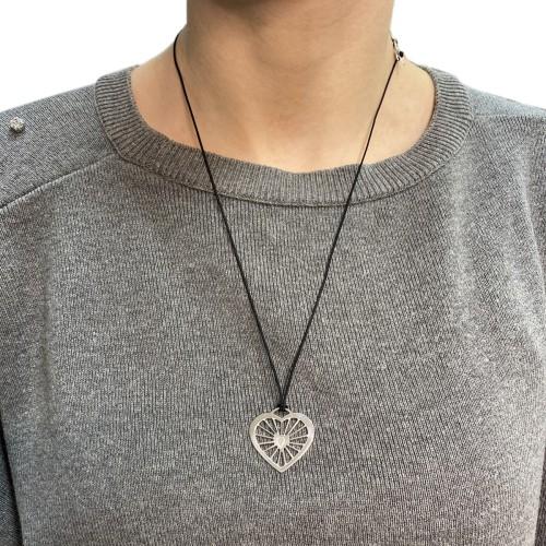 Necklace Heart Locked