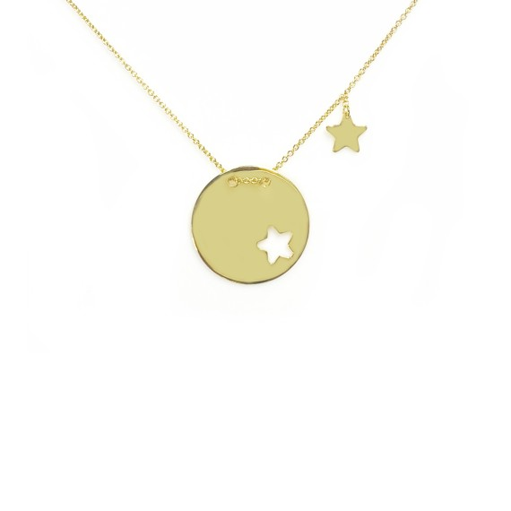 Necklace Cut Star